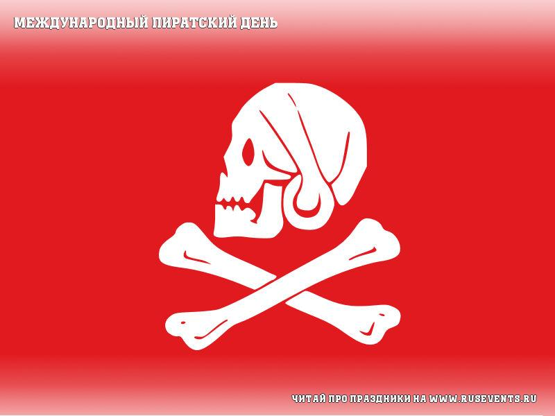 19 september - International Talk Like A Pirate Day